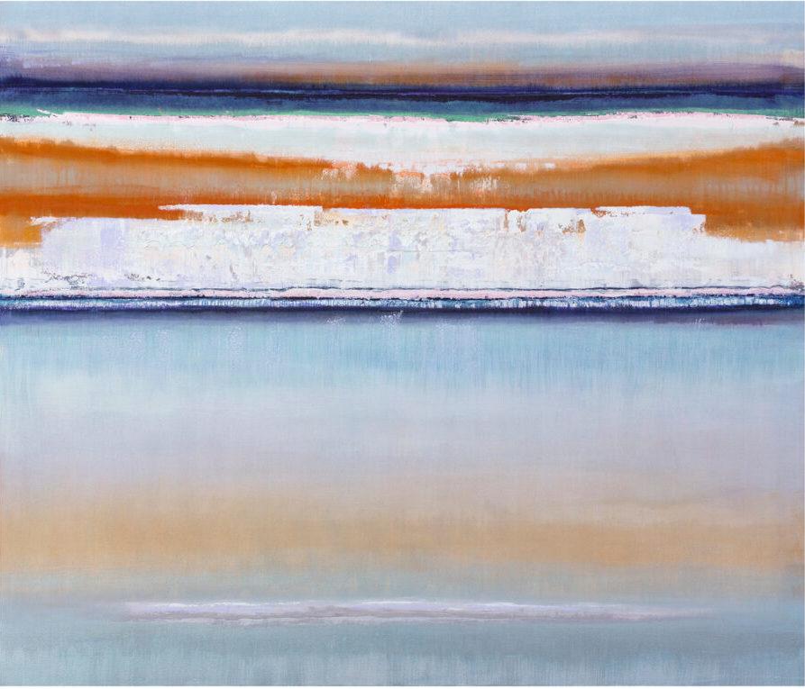 Bruno Kurz: Eismeer 2, 140 x 120 cm, 7.200 Eur