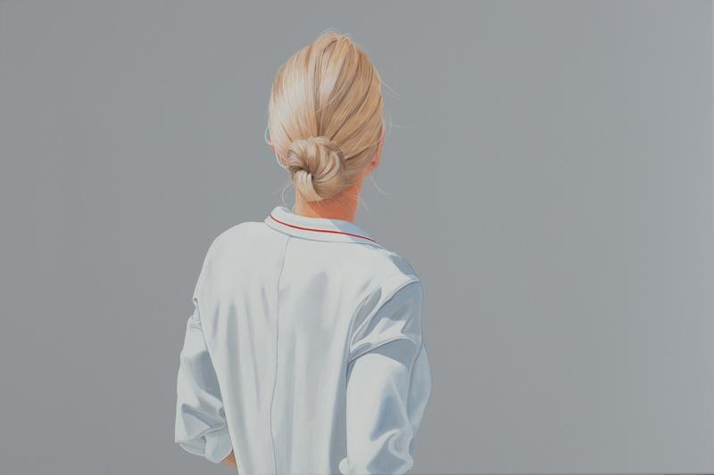 Sabine Liebchen: o. T., Unikat, Acryl auf Leinwand, auf Keilrahmen gespannt, Format 120 x 80 cm, 5.800 Eur