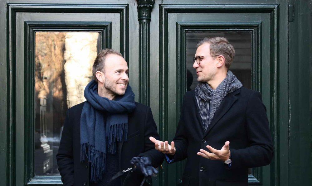 Thomas Gyvelgaard Anderson und Sebastian Skov Regese