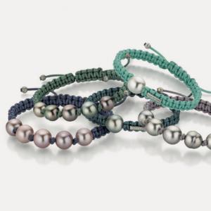 Gellner: Armband mit Tahitizuchtperlen oder Akoyazuchtperlen © Gellner