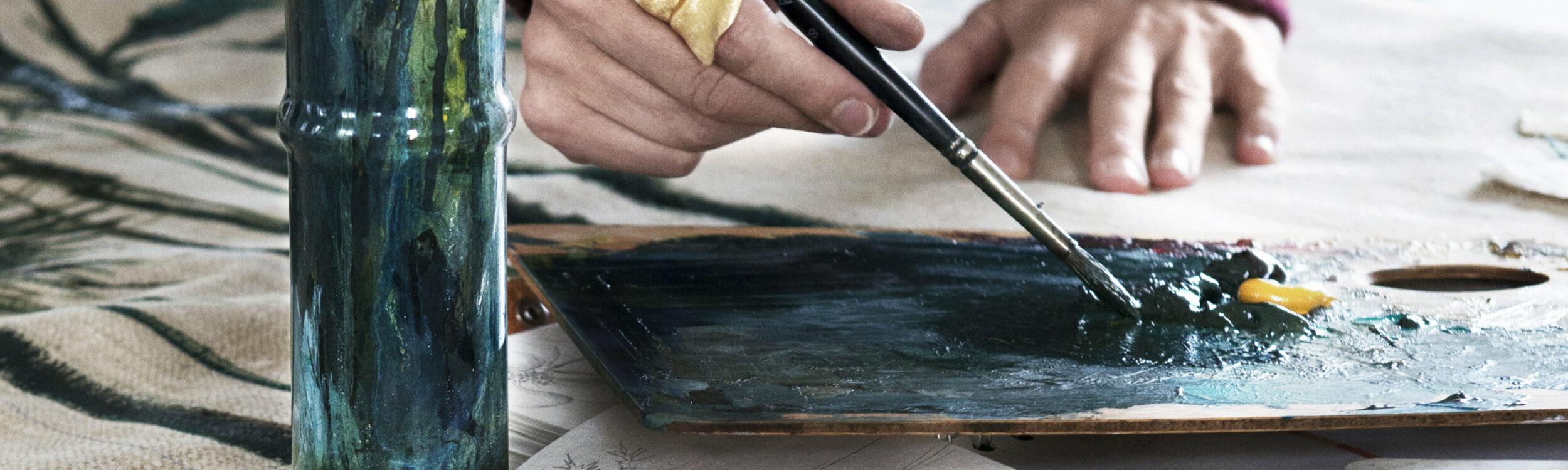 Ole Lynggaard Painting, Galerie Voigt, Nürnberg, Schmuck, Kunst