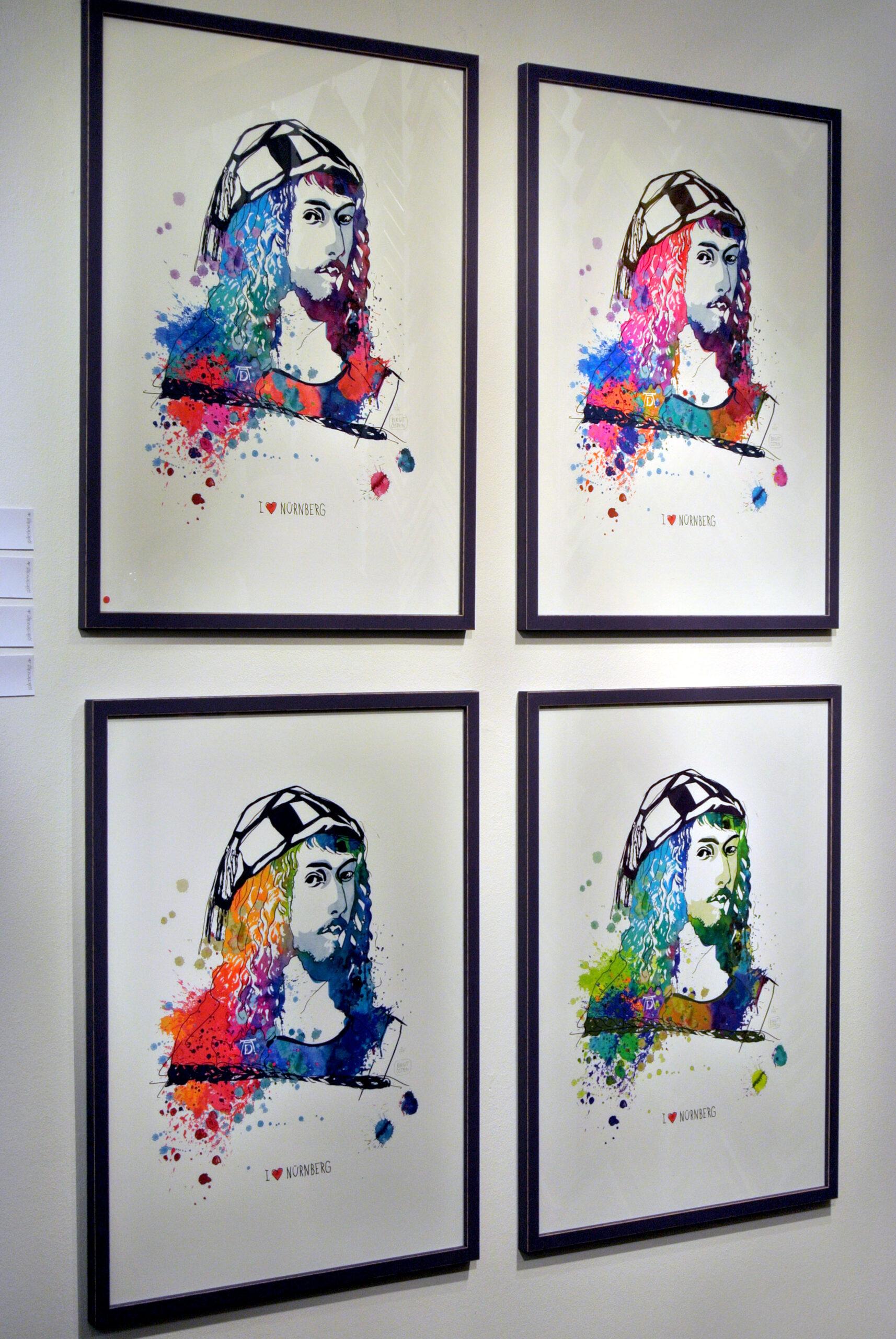 """""""AD"""" Birgit Osten ©Galerie Voigt"""