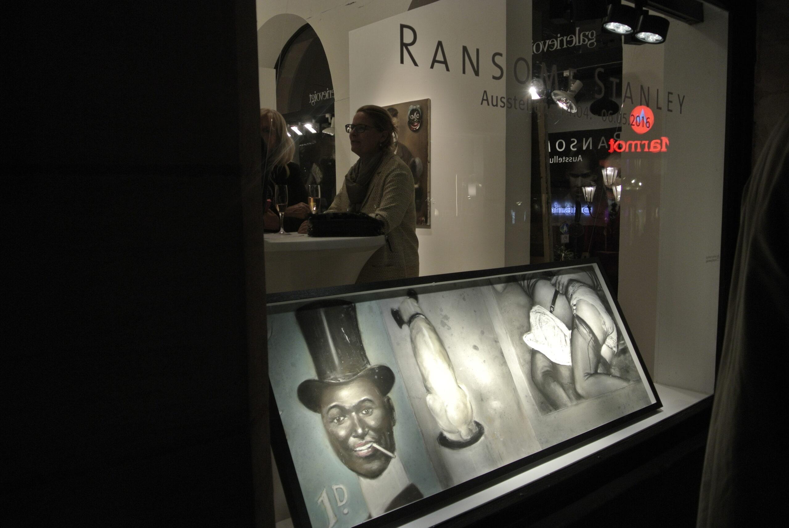 Ausstellung Ransome Stanley ©Galerie Voigt