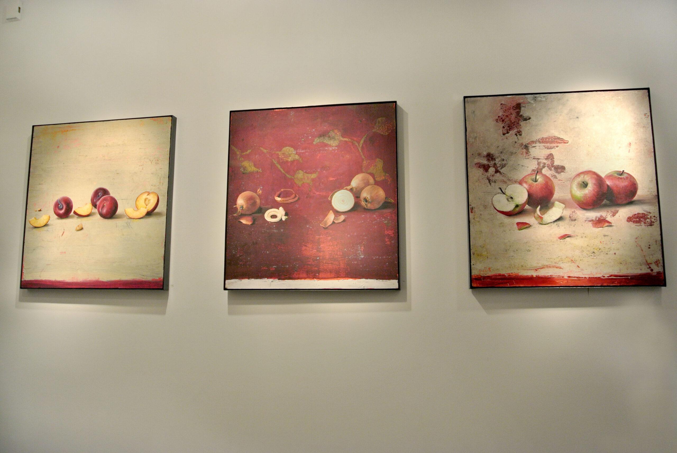 Ausstellungsansicht Michael Lauterjung in der Galerie Voigt 2015 Nürnberg ©Galerie Voigt