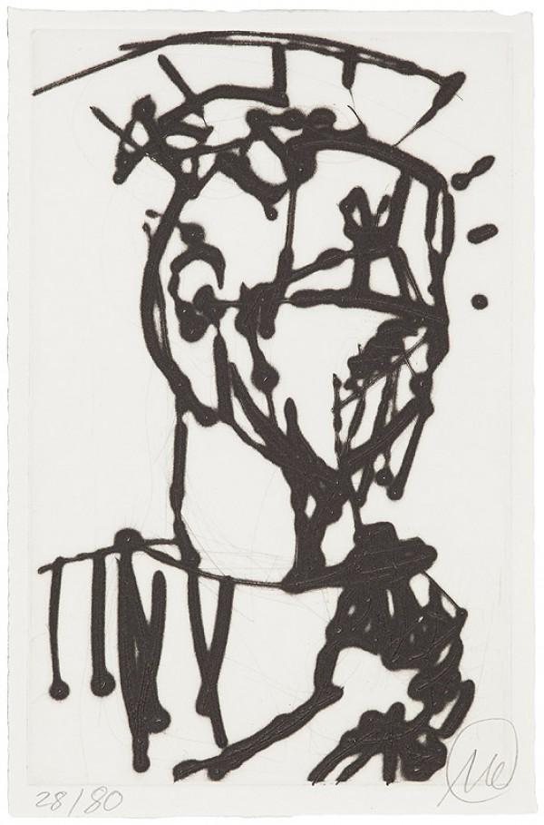 Markus Lüpertz,Kunst, Galerie Voigt, Nürnberg