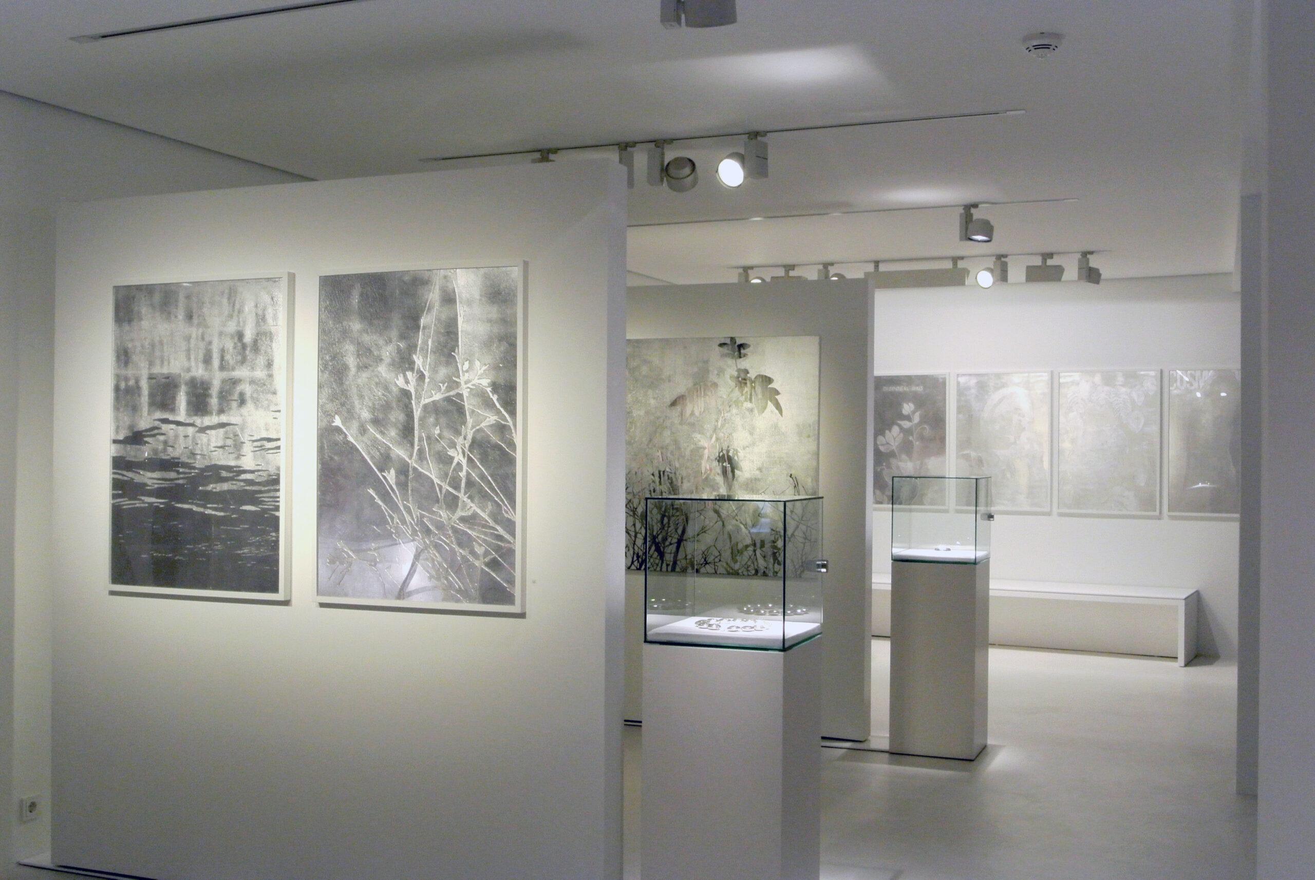 Ausstellung von Birgit Nadrau ©Galerie Voigt