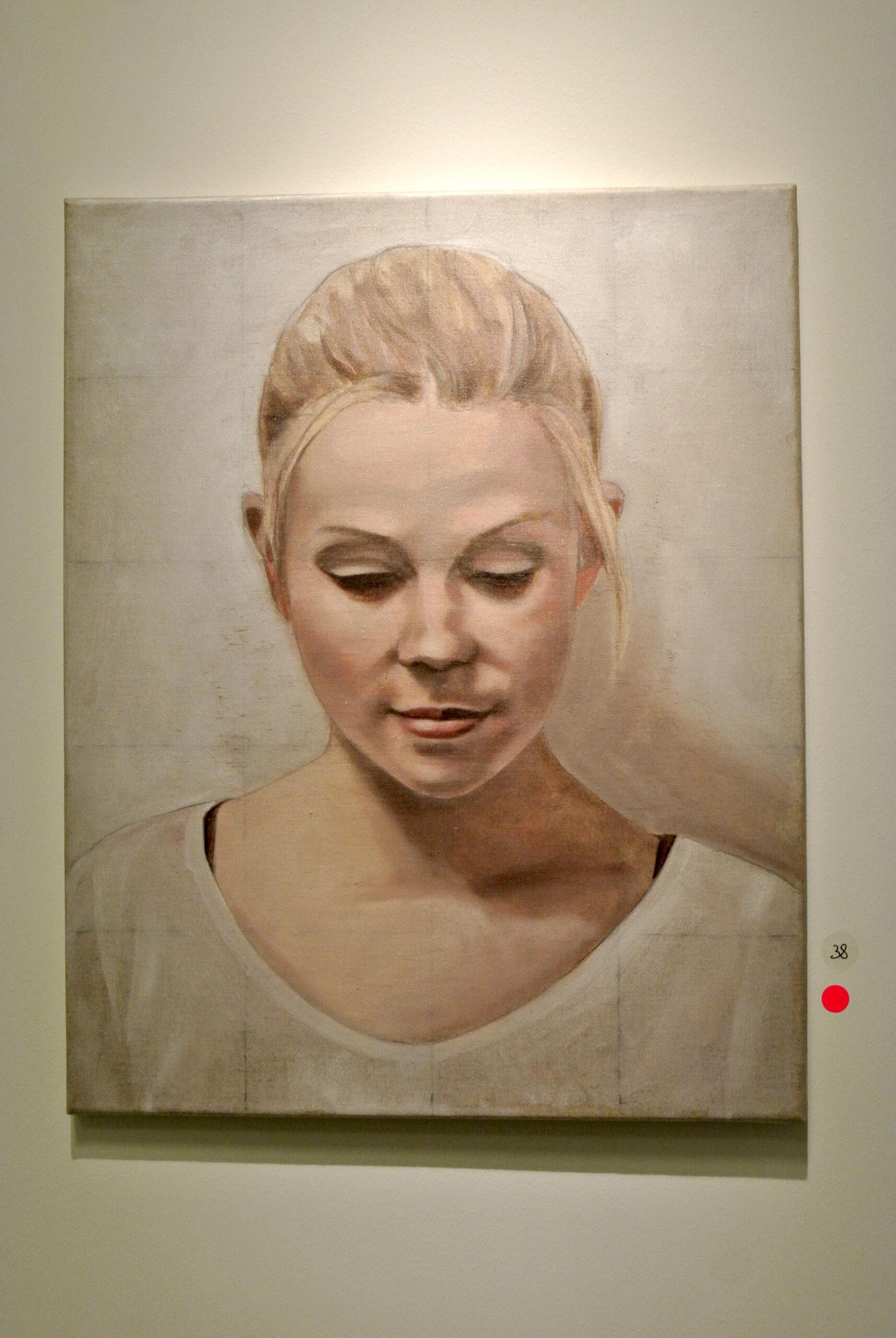Nadrau: Anna, Öl auf Leinwand, 40 x 50 cm, 1.800 eur