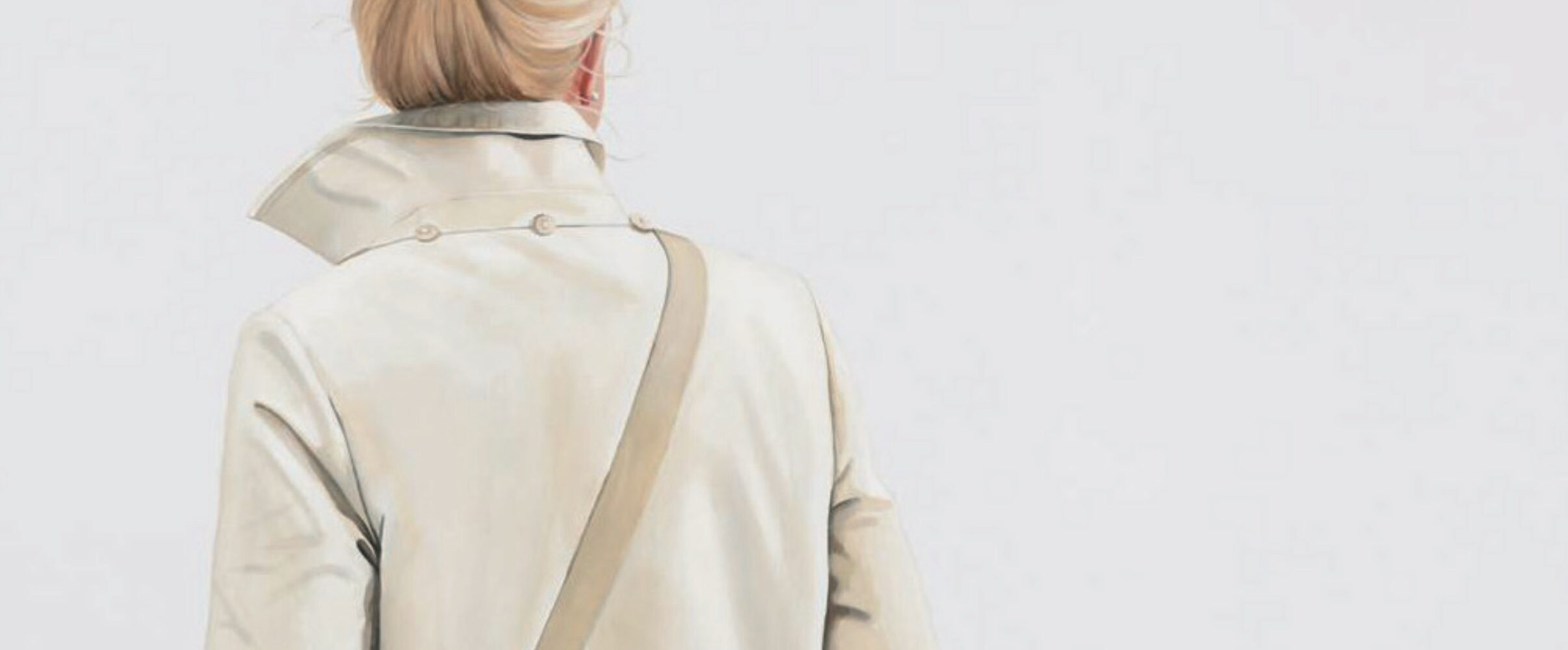 Einladung zur Ausstellung von Sabine Liebchen in der Galerie Voigt, Nürnberg