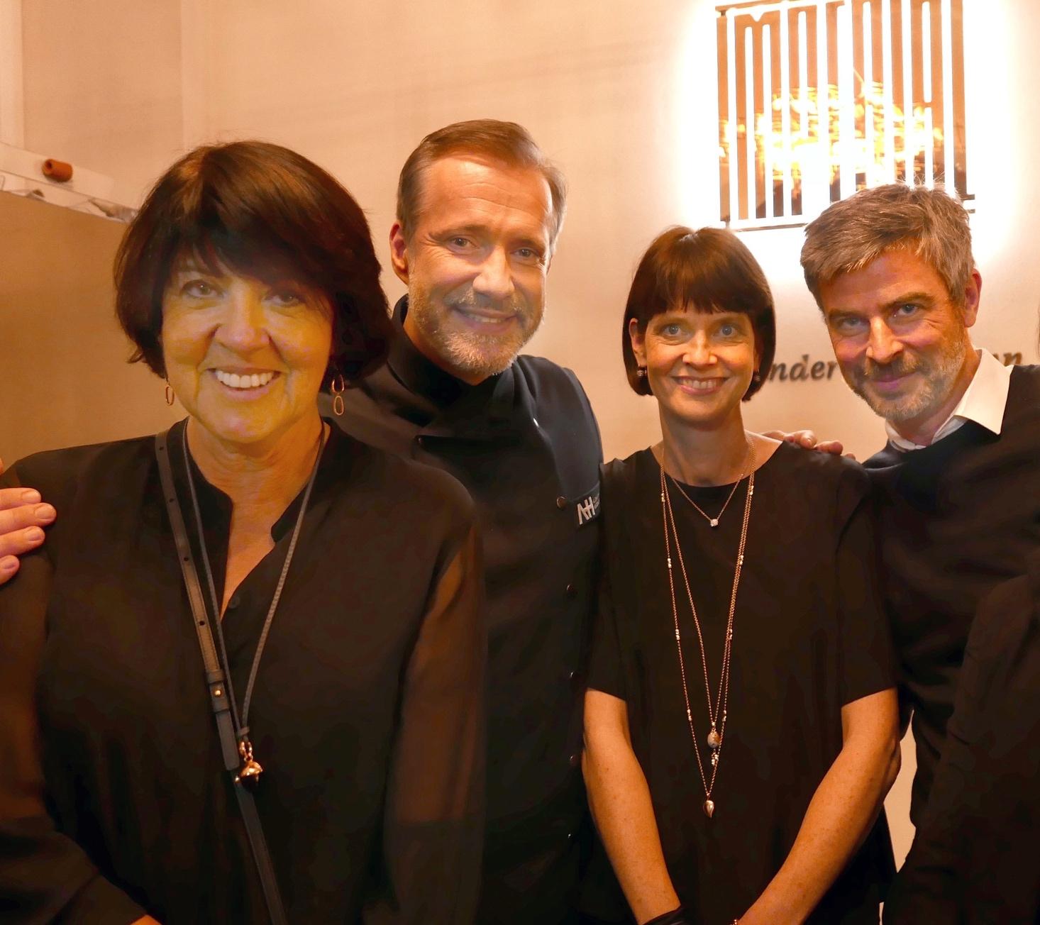 Eva Grossmann, Alexander Herrmann, Doris Weiß und Björn Grossmann @Galerie Voigt