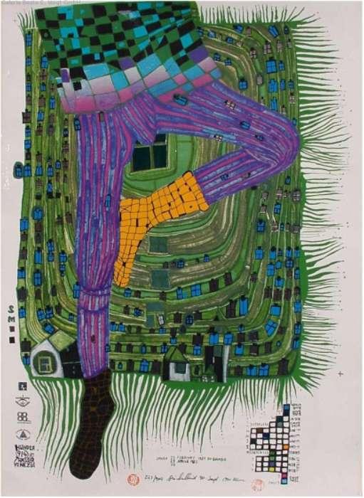 Hundertwasser,Kunst, Galerie Voigt, Nürnberg
