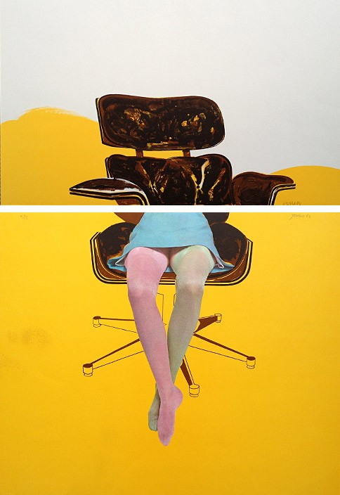 Jones, Allan, Kunst, Galerie Voigt, Nürnberg