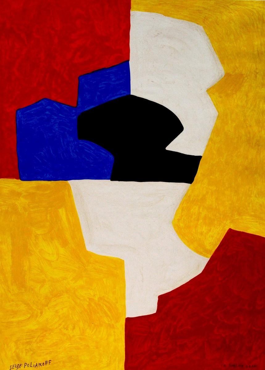 Poliakoff, serge, Kunst, Galerie Voigt, Nürnberg