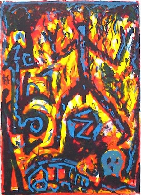Penck, A.R., Kunst, Galerie Voigt, Nürnberg