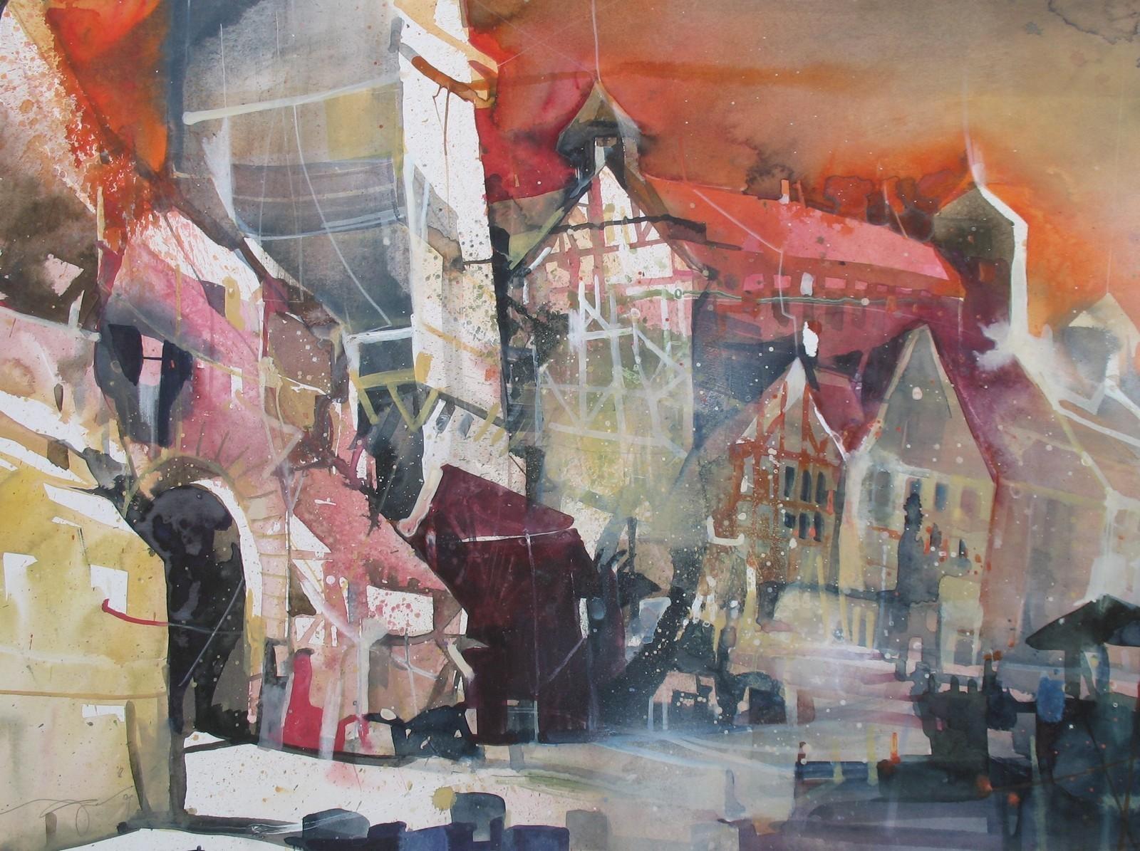 Vogel, Bernhard, Kunst, Galerie Voigt, Nürnberg