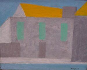 Toni Burghart: Adriainsel, Unikat,Acryl auf Leinwand, 40 x 30 cm, handsigniert, 2.350 Eur