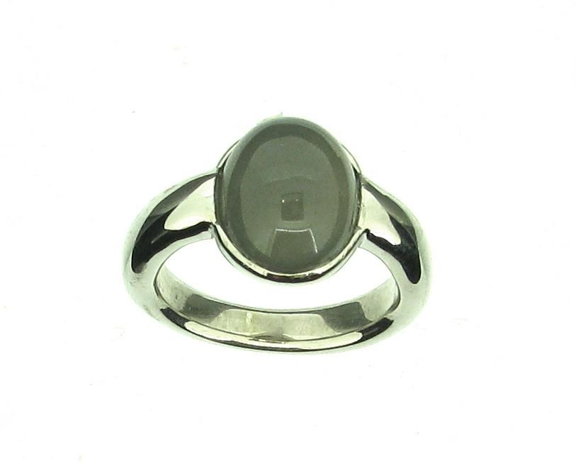 Ring Mondstein 925 Silber - GalerieVoigt - 01.2221GM.25