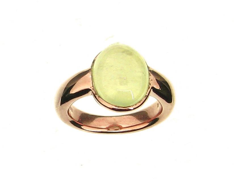 Ring Prehnit 925 Silber - GalerieVoigt - 01.2221PR.45