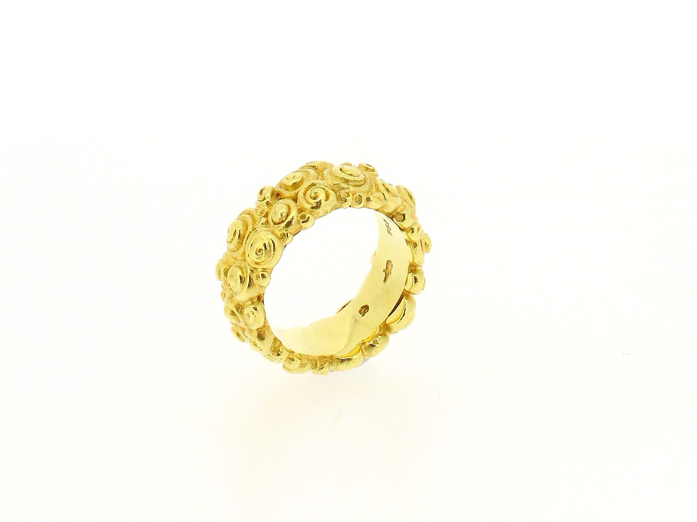 Ring Rosen 18ct Gelbgold - Individuelle Marken - 010602