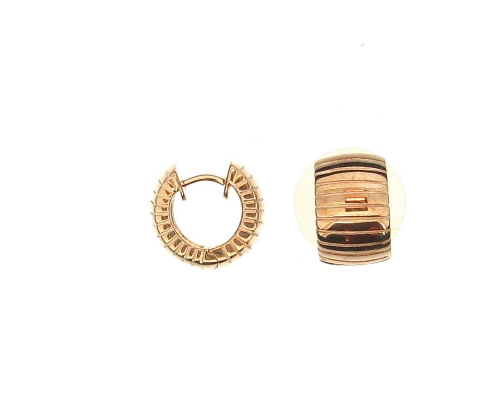 Creolen 925 Silber 18ct Gold - GalerieVoigt - 02.4511.45