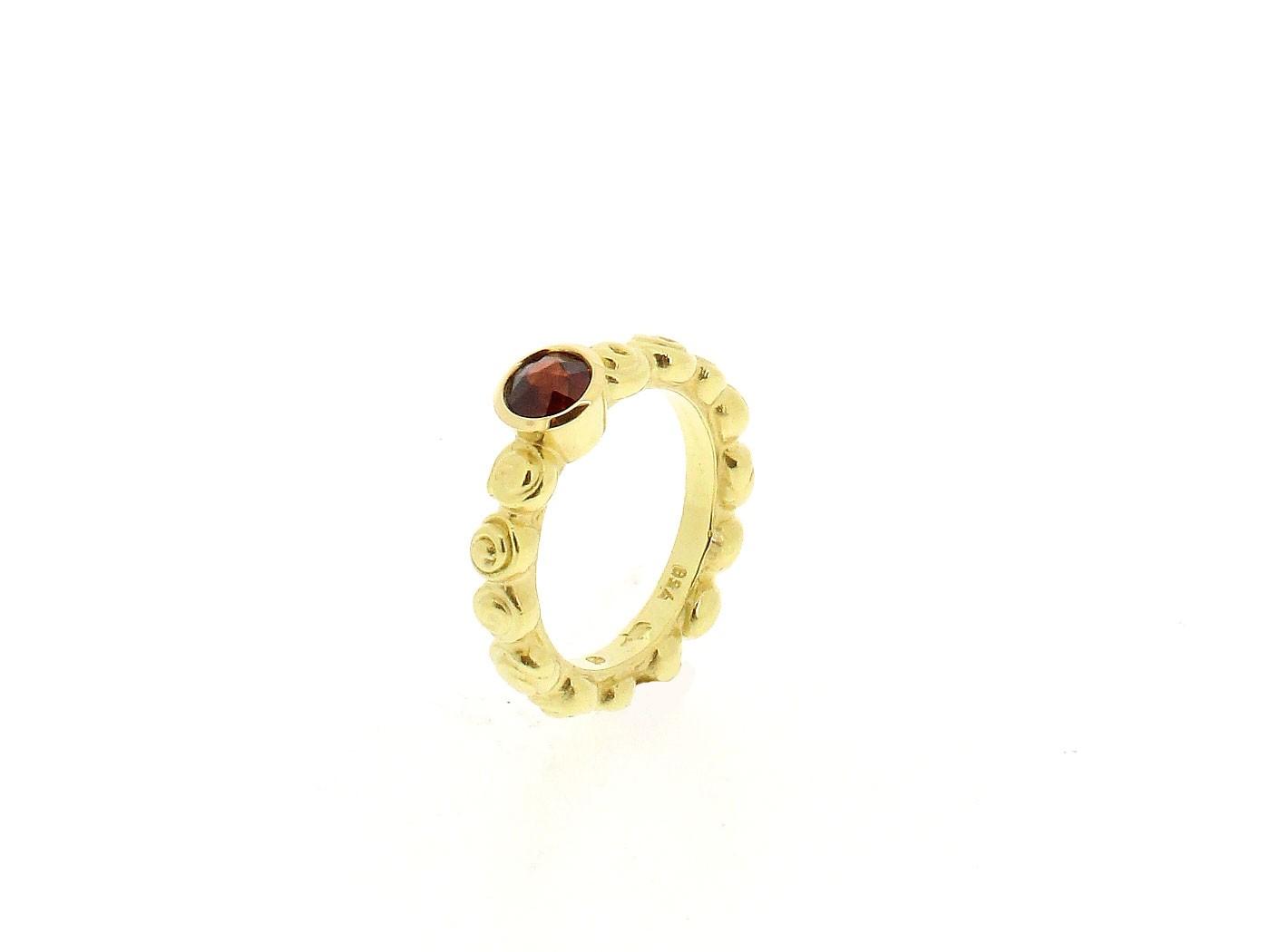 Ring Rosen 18ct Gelbgold - Individuelle Marken - 021005