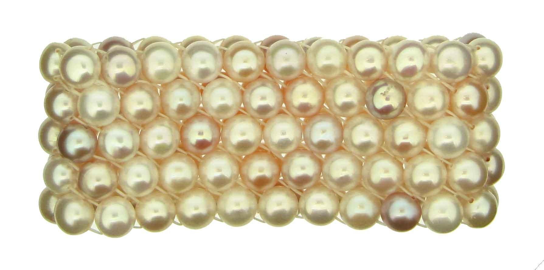 Armband Süsswasserperlen - Schoeffel/Perle - 1001006
