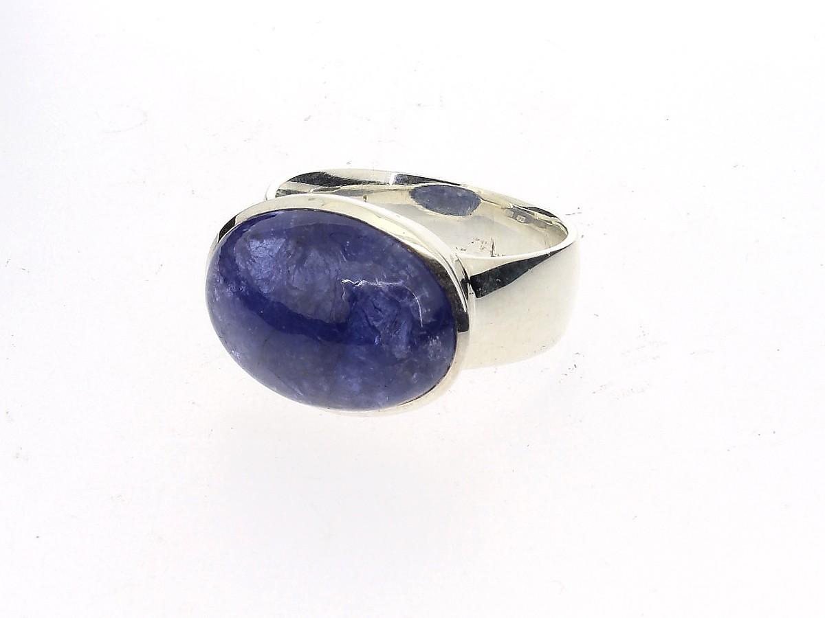 Ring Tansanit 925 Silber - GalerieVoigt - 10087100699