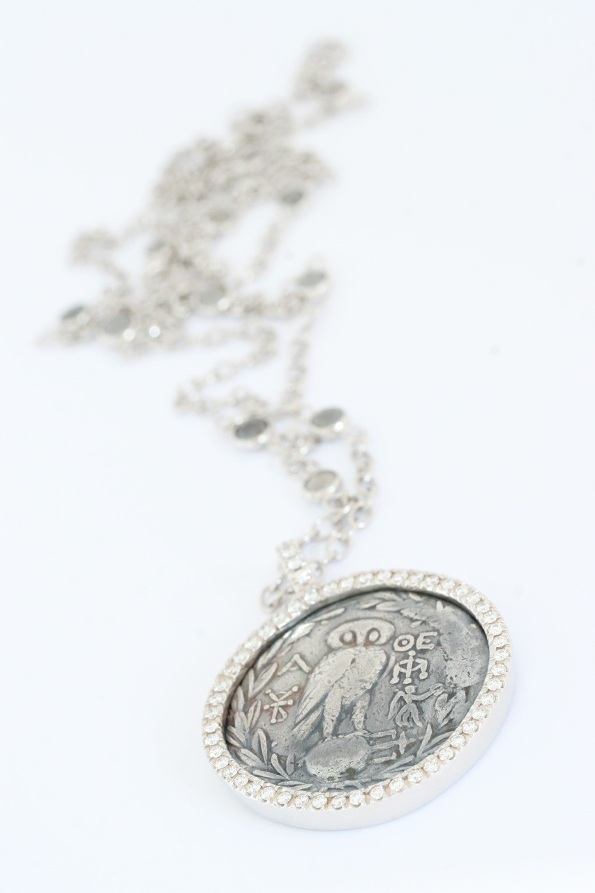 Anhänger Münze Eule 18ct Gold - TwentyTen - 10184