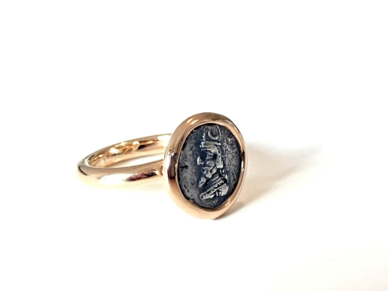 Ring Münze Darius 18ct Roségold - TwentyTen - 10624R