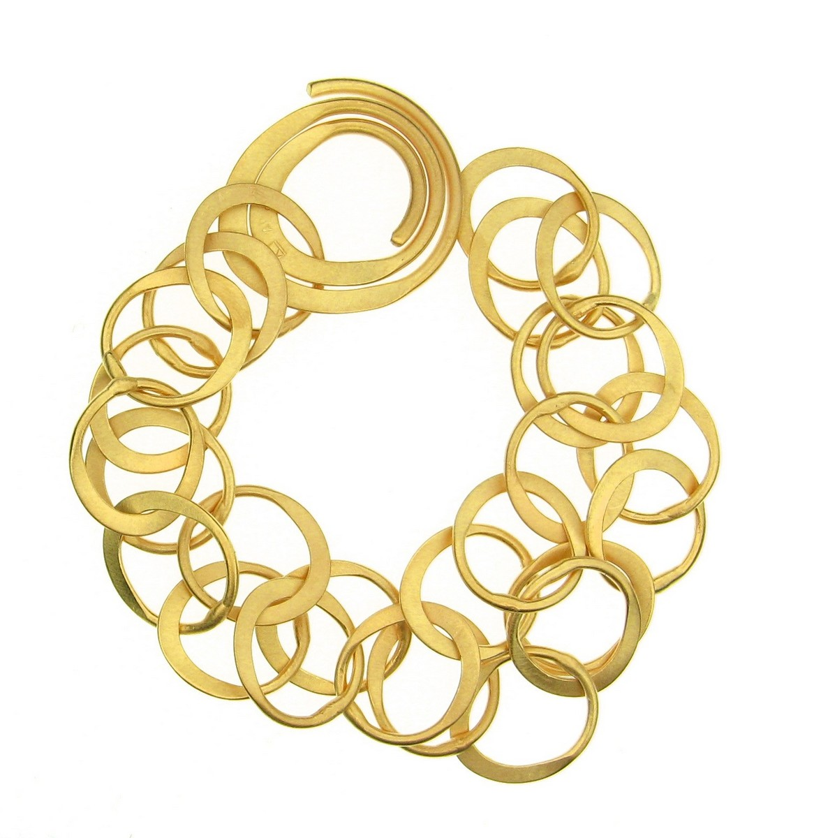 Armband 925 Silber goldplatt. - Antje Liebscher - 10624