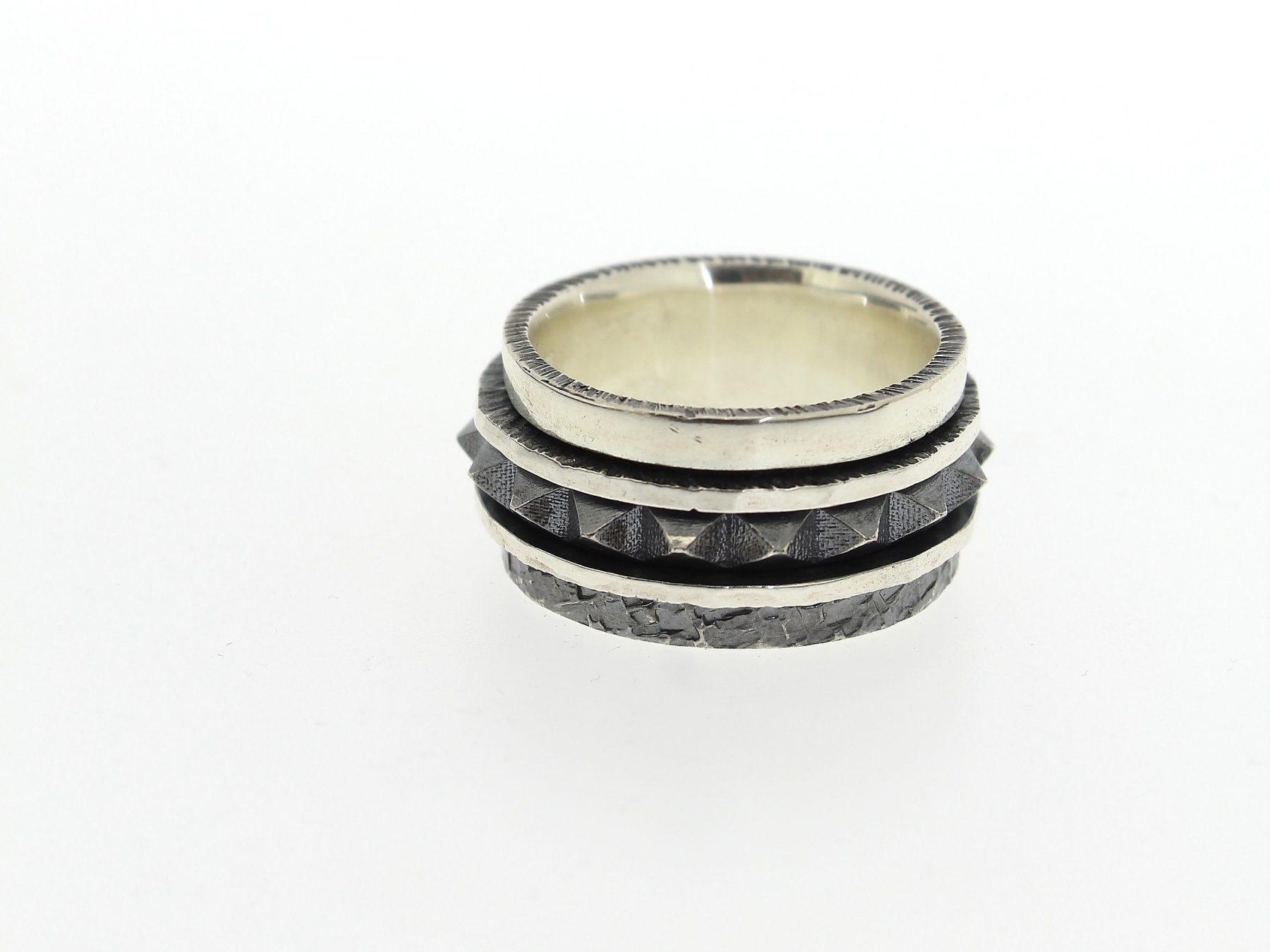 Ring 925 Silber - Individuelle Marken - 1067A