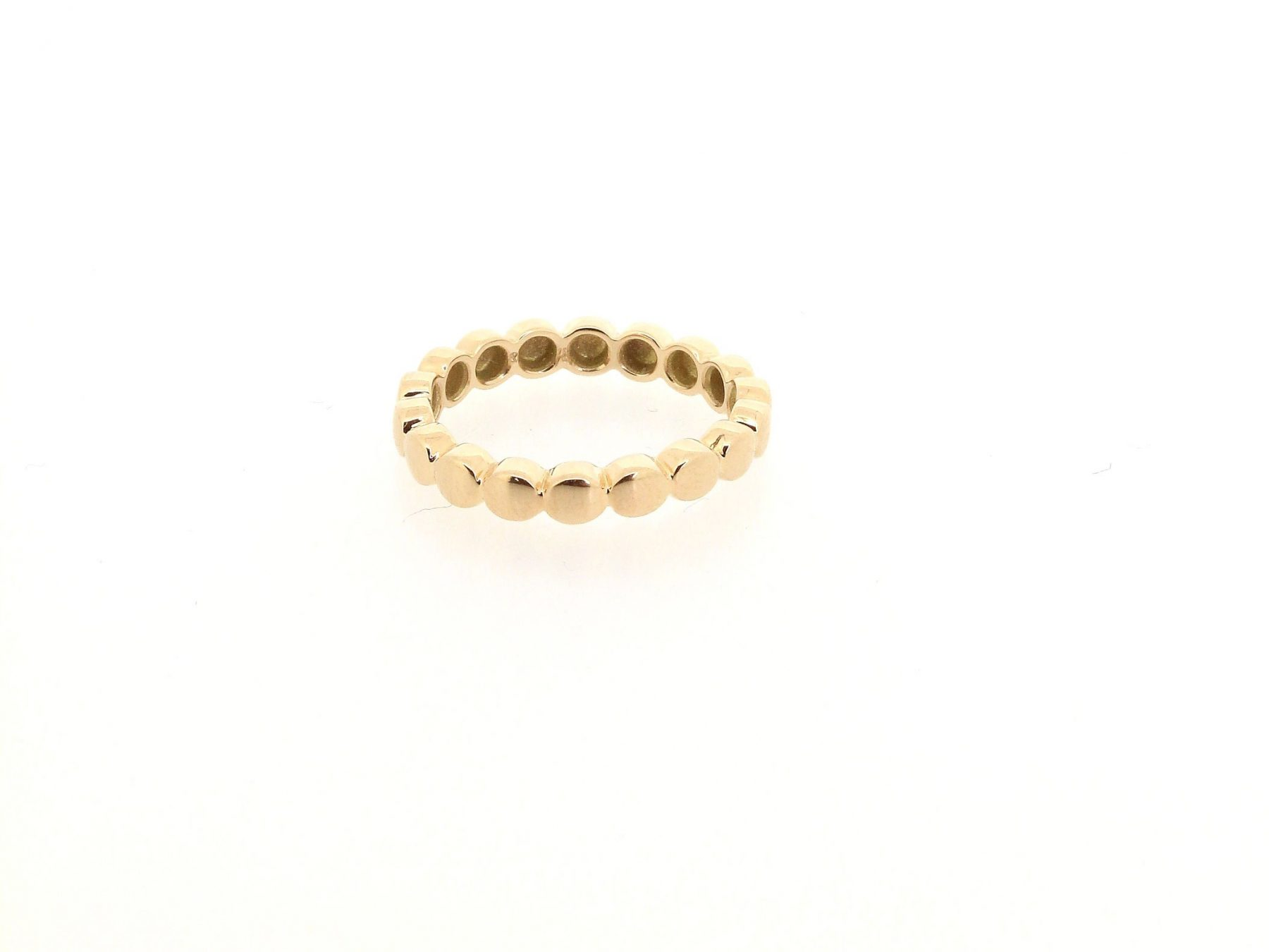Ring Button 18ct Roségold - TwentyTen - 10886