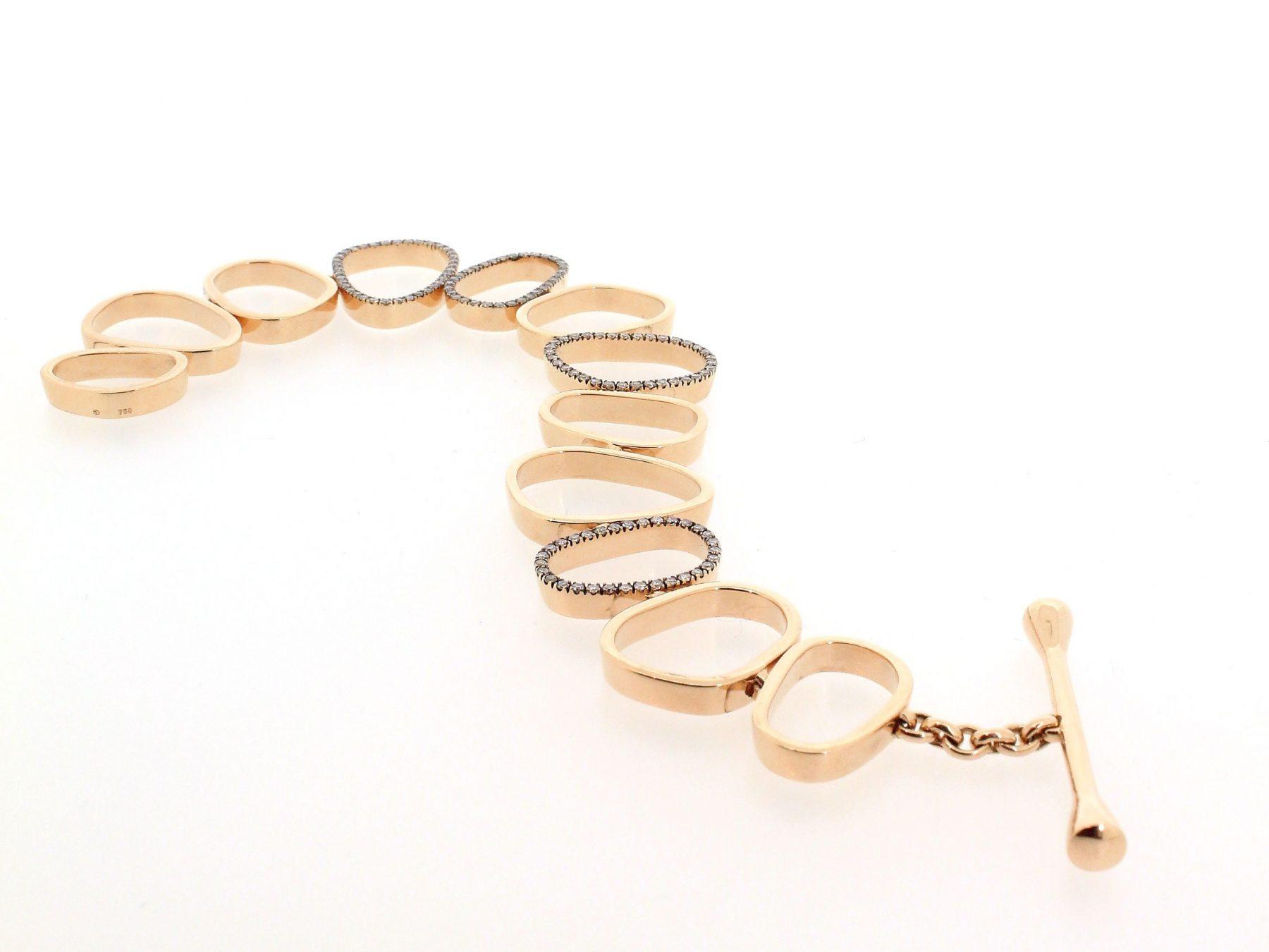 Diamantarmband Air Roségold - TwentyTen - 10996