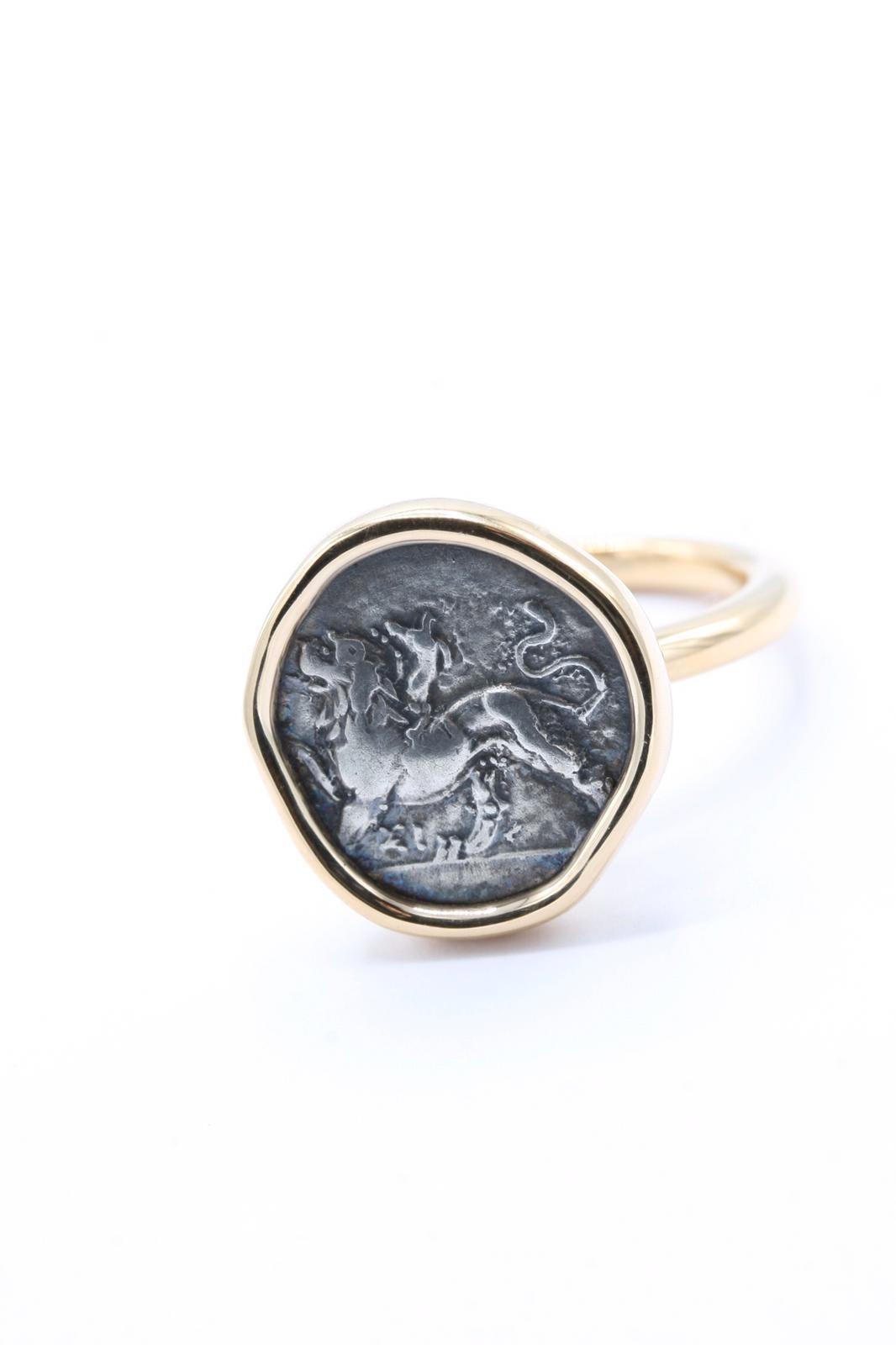 Ring Münze 18ct Roségold - TwentyTen - 11097