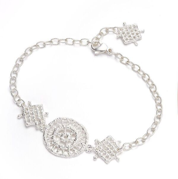 Armband Filipina 925 Silber - Brigitte Adolph - 1216-AG-1