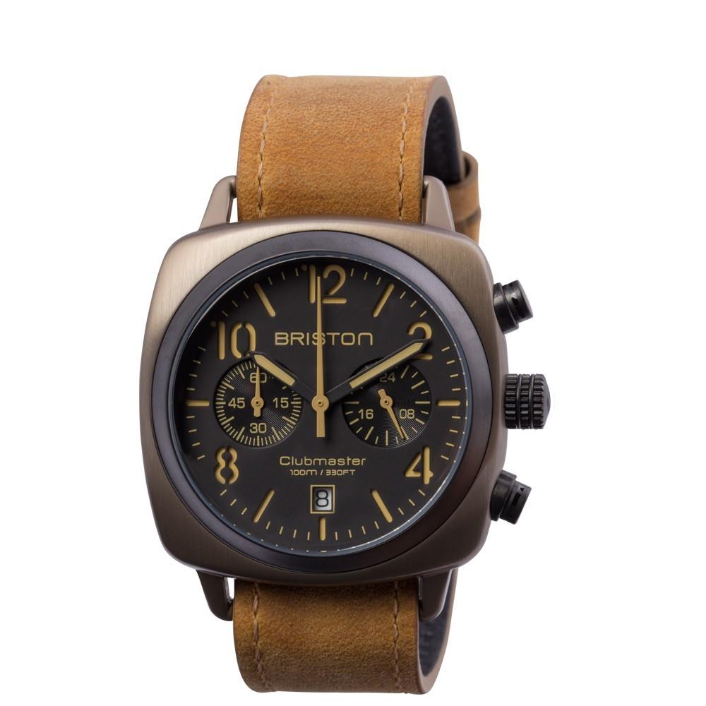 Uhr Classic Quarz 40mm - Briston - 15140.SPK.C.5.LVBR