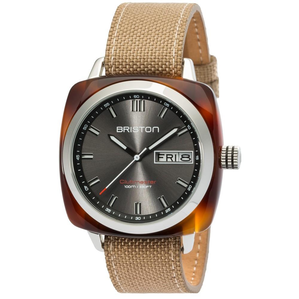 Uhr Clubmaster Classic 42mm - Briston - 16342.SA.TS.11.LSK