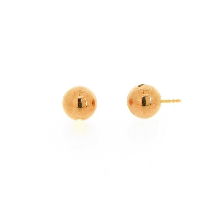 Ohrstecker Kugeln 18ct Gold - Köppel, Christine - 20001RG