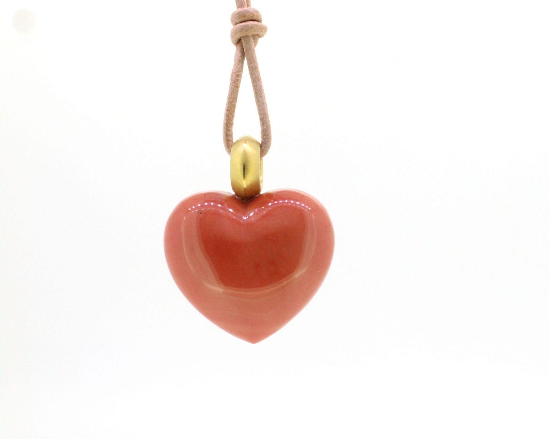 Anhänger Herz 900 Gelbgold - Individuelle Marken - 204dosc09-1
