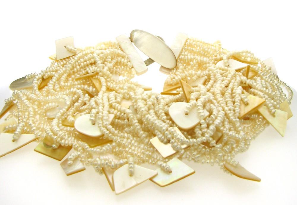 Kette Perlen Perlmutt - Monies - 20508