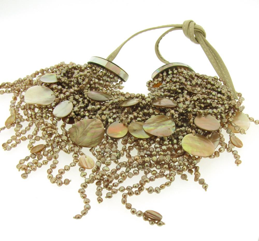 Kette Perlen Perlmutt - Monies - 21038