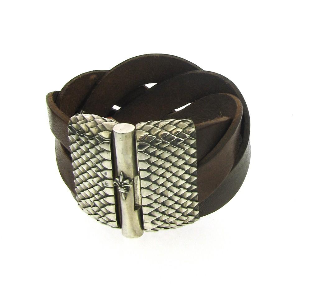 Armband Plain & Lilies 925 Silber - Elf Craft - 21900134ds