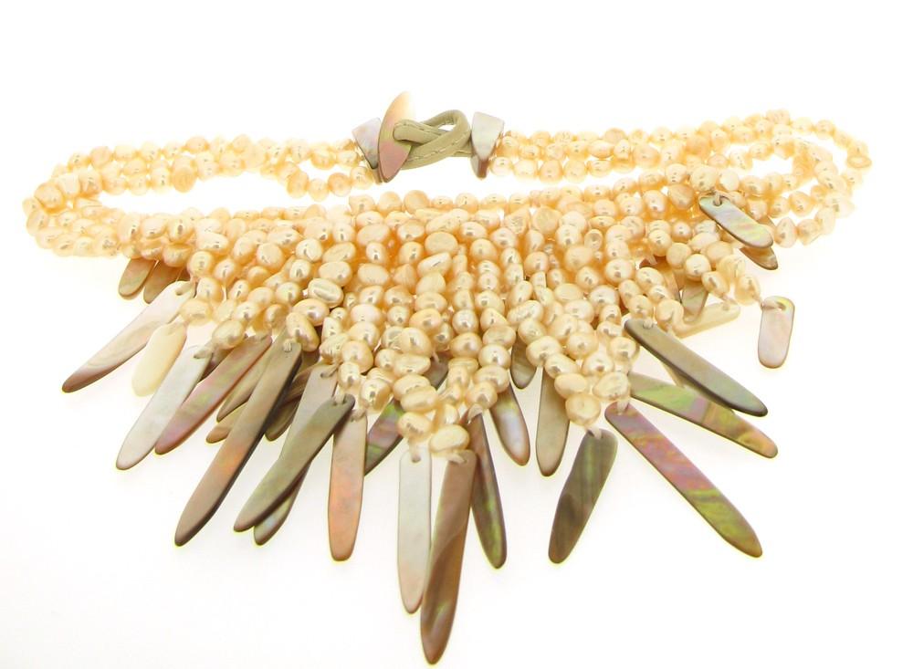 Kette Perlen Perlmutt - Monies - 22210PR