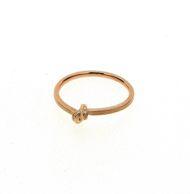 Ring Knoten 18ct Roségold - Oliver Schmidt - 300.P