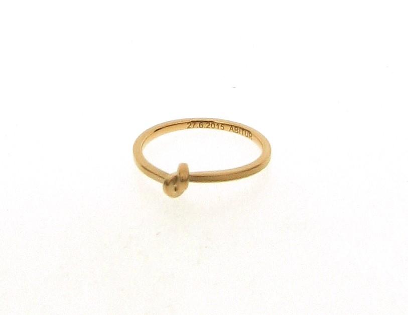 Ring Knoten 18ct Roségold - Oliver Schmidt - 300rose