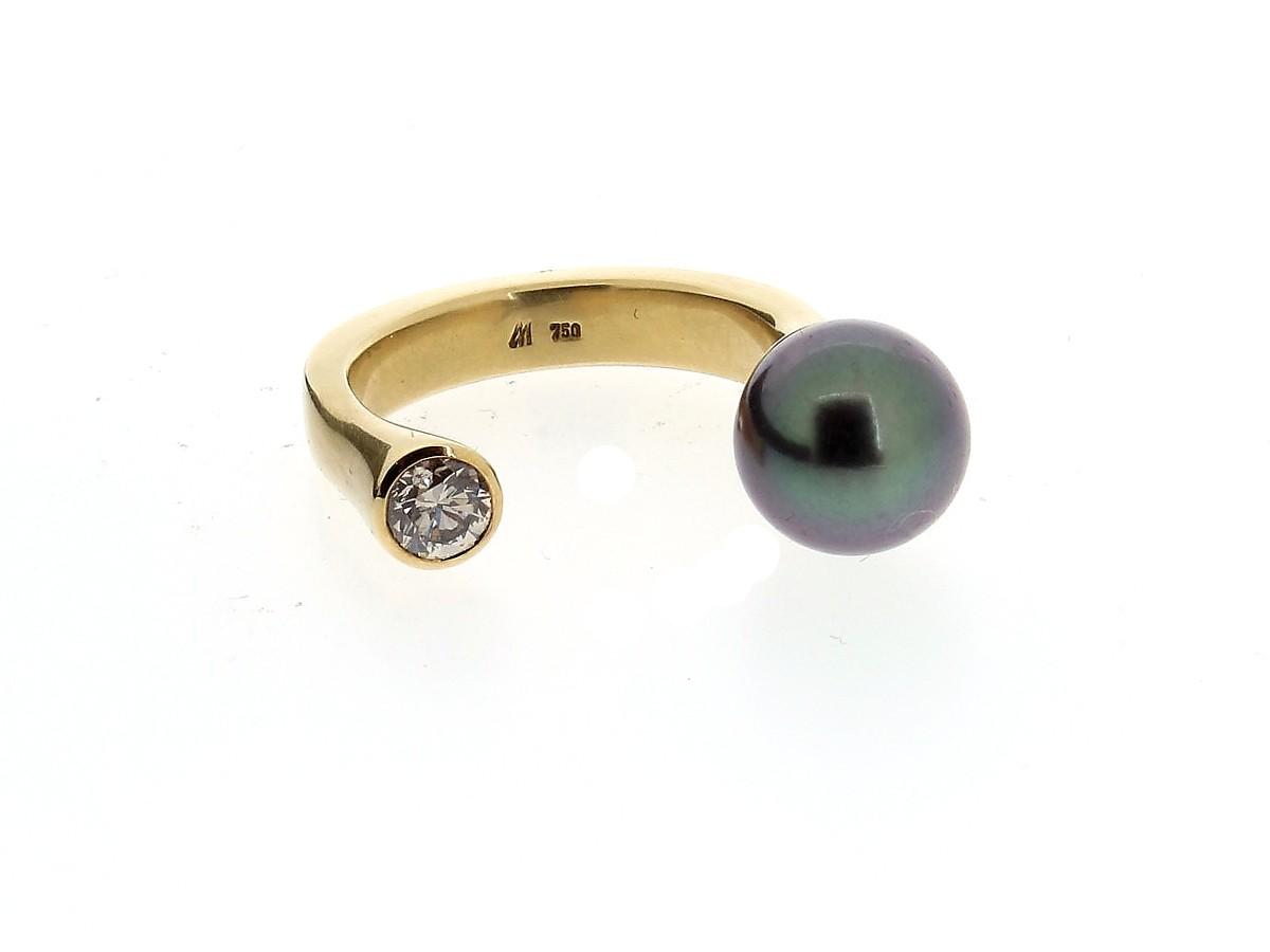 Ring Gemini 18ct Gelbgold - Angela Hübel - 3037