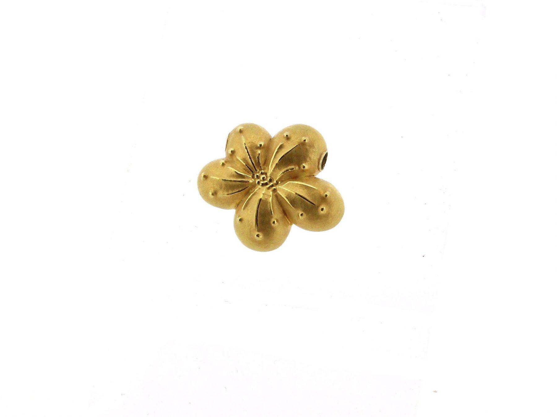 Schließe Blume 22ct Gold - Individuelle Marken - 307dosc05-1