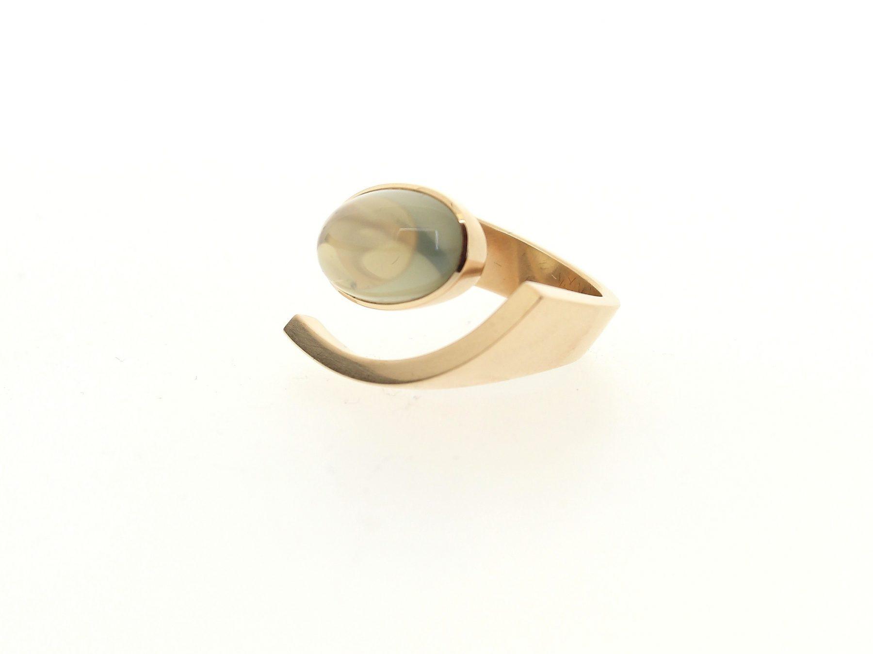 Ring Mondschein Mondstein - Angela Hübel - 3099