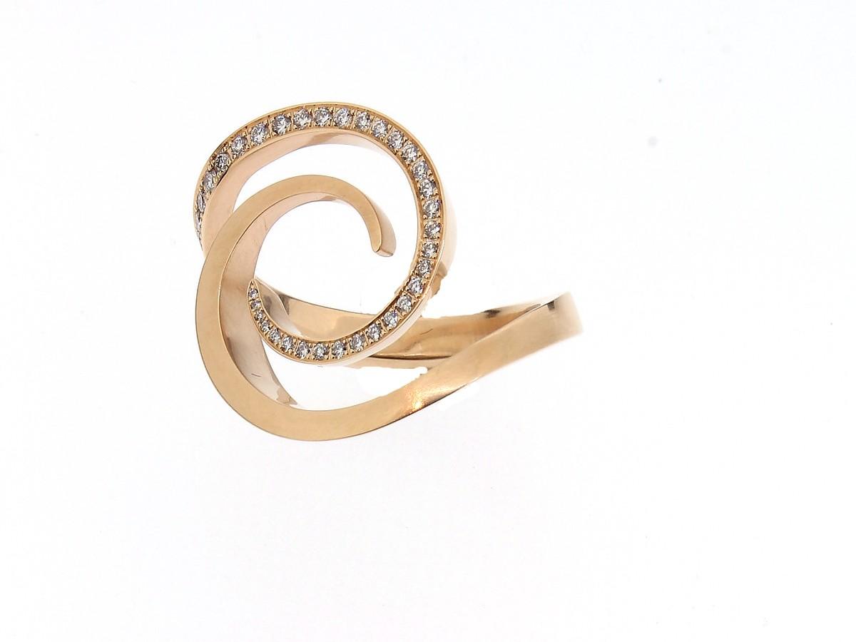 Ring Windrose 18ct Roségold - Angela Hübel - 3104