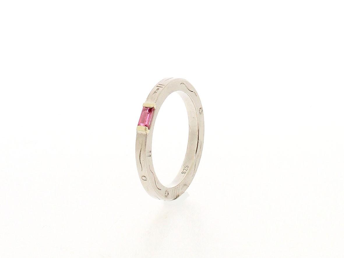 Ring rosa Turmalin 925 Silber - GalerieVoigt - 4023-277