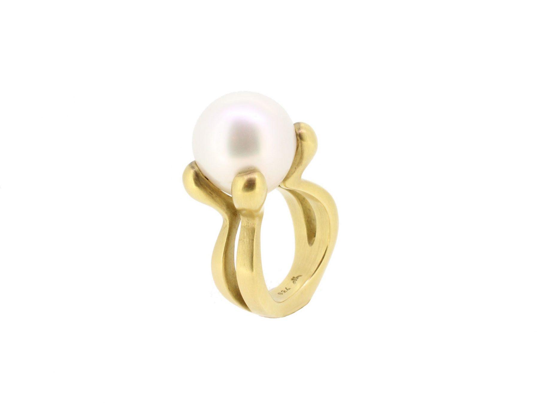 Ring Einperler 18ct Goldgold - Corinna Heller - 4055-2266
